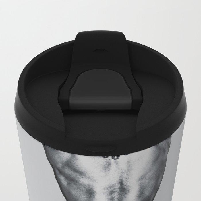 it hurts when ... Travel Mug