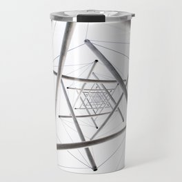 Infinite Geometry Travel Mug
