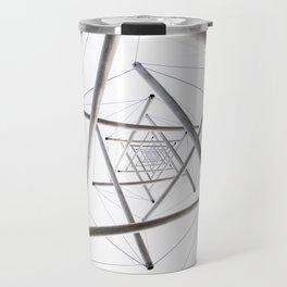 Infinite Geometry Travel Mug