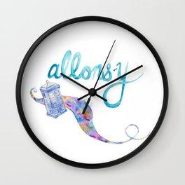 allons-y Wall Clock