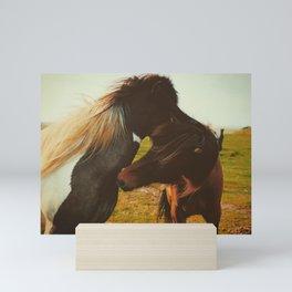 Untitled Horses Mini Art Print