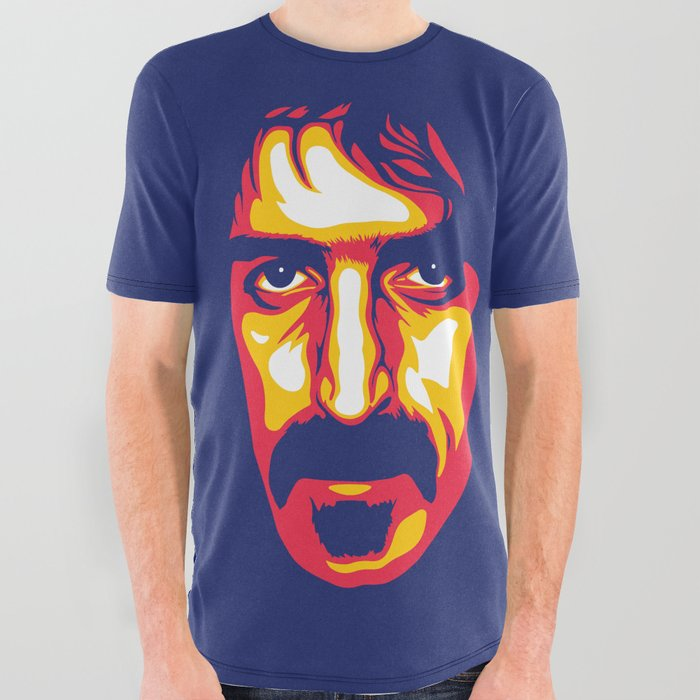Zappa_All_Over_Graphic_Tee_by_Santiago_Vidal__Small