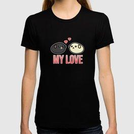 My Love Tasty Beans Soybean Cartoony Anime Gift T-shirt