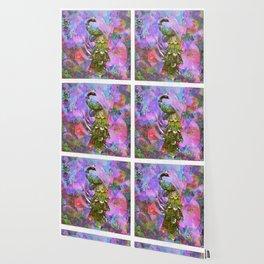 Peacock Watercolor Wallpaper