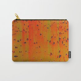 Bio-morphic Acid Wash Carry-All Pouch