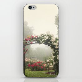 Blooms In Fog III iPhone Skin