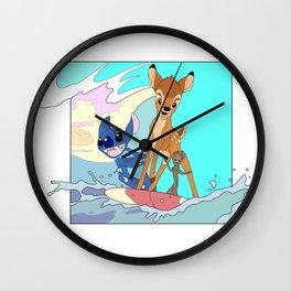 Cowabunga Wall Clock