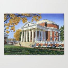 The Rotunda, UVA Canvas Print