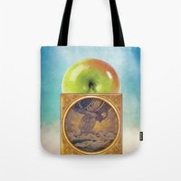 atlas Tote Bags featuring Atlas by JPvR