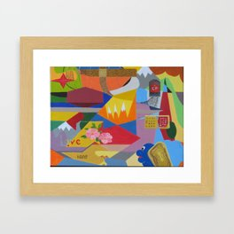 Westward HO Framed Art Print