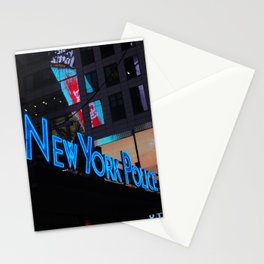 New York Police Dept Stationery Cards