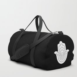 Jain Symbol For Non-Violence Duffle Bag