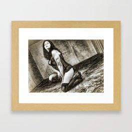 Ex/tasy #8 Framed Art Print