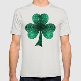 Beautiful Emerald Green glitter sparkles T-shirt