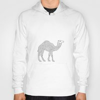 camel Hoodies featuring Camel by Emmy