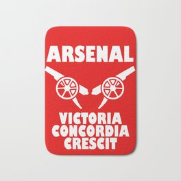Slogan Arsenal Bath Mat