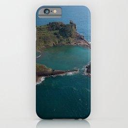 São Miguel Island Ep Quadrangular Cover Hollowed Hole Shadow iPhone Case