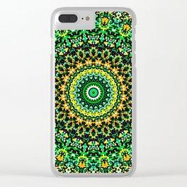 Mosaic Kaleidoscope 1 Clear iPhone Case
