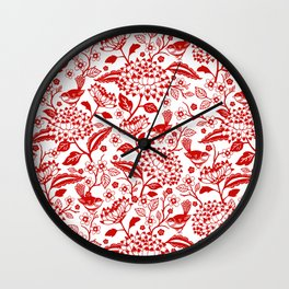 Window Garden Wall Clock