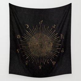 Astronomy Symbols Wall Tapestry
