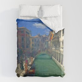 Venice Canal Ultra HD Comforters
