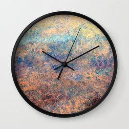 satellite view  1V Wall Clock