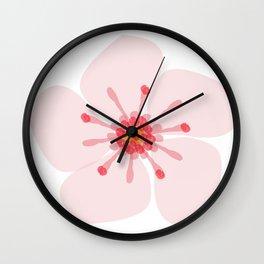 Sakura flower Wall Clock