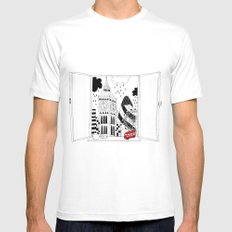London window MEDIUM Mens Fitted Tee White