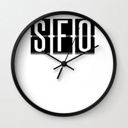 SFO San Francisco Airport Code Wall Clock