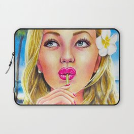 Summer - Watercolour Painting Laptop Sleeve