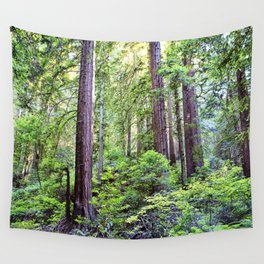 The Light Through the Woods Wall Tapestry