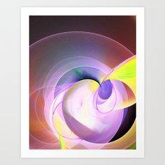 Silk Fantasy Art Print