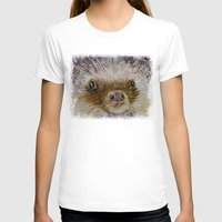 hedgehog T-shirts featuring Hedgehog by Michael Creese