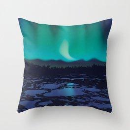 Wapusk National Park Poster Throw Pillow