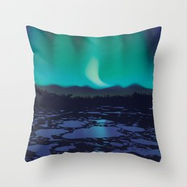 Wapusk National Park Poster Throw Pillow