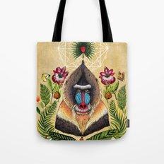 Majestic Mandrill Tote Bag