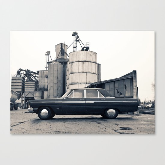 Industrial Fairlane Canvas Print