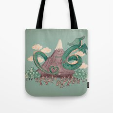 The Not-So-Lonely Mountain Tote Bag