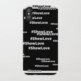 showLove iPhone Case