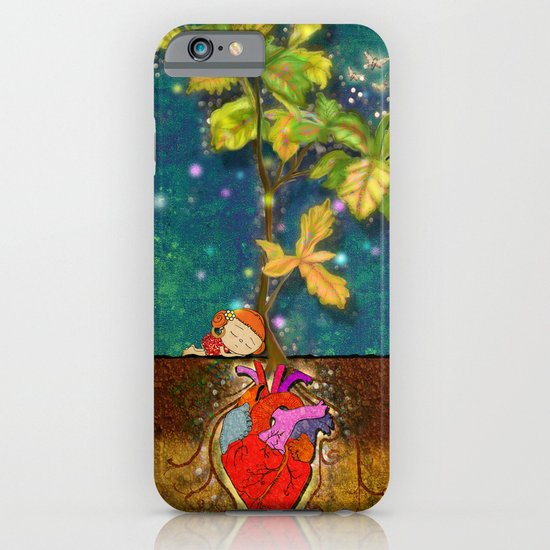 even though i buried my heart, my love has blossomed iPhone & iPod Case