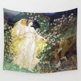 William Blake Richmond Venus and Anchises Wall Tapestry