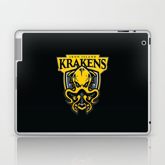 Iron Island Krakens Laptop & iPad Skin