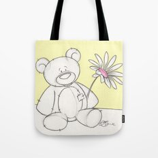 Thimble the Teddy Bear Tote Bag