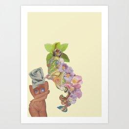 Fit Girl 003 Art Print