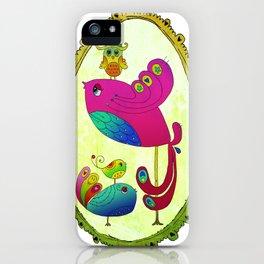 Bird Motherhood iPhone Case
