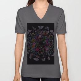 Butterfly Garden Unisex V-Ausschnitt