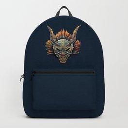 Killmonger Tribal Mask Backpack