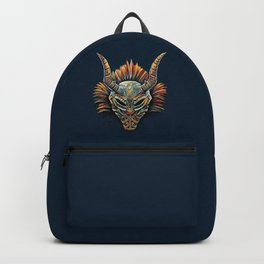 Killmonger Tribal Mask Backpack
