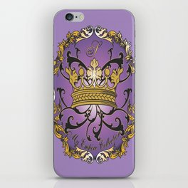 My Empire Collection Summer Set Purple Crown iPhone Skin