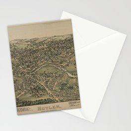 Butler, Pennsylvania (1896) Stationery Cards